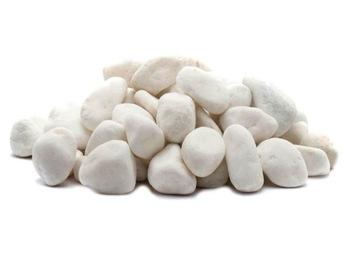 1 kg Kamienky Kamienkový štrk Super biely grécky Thasos