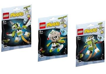 LEGO MIXELS 4 41527 + 41528 + 41529 ROKIT NIKSPUT 3ks