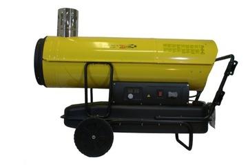 Olejový ohrievač 50 kW 2000 m³ / h Danfoss Pump