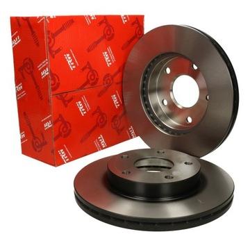 Тормозной диск trw alfa romeo 159 (939) зад, фото
