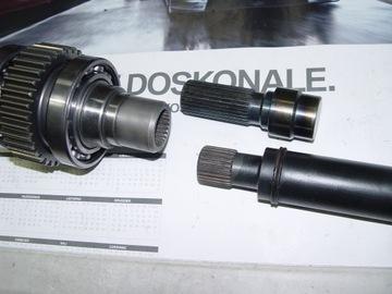 Bmw x5 e53, e70 вал карданный передний ремонт восстановление, фото