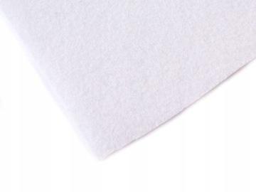 FL001 Войлок на метр, белый 1мм 50x85см