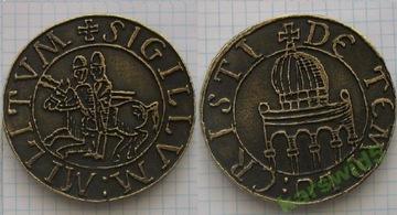 медальон орден тамплиеров медаль