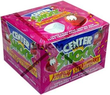 Super Sour Guma Center Shock Strawberry 100 шт.