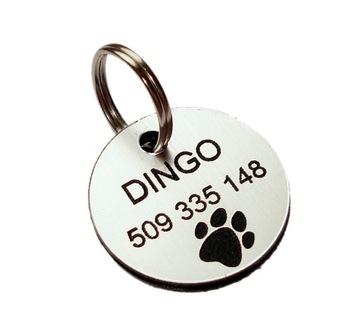 Идентификационная бирка для маленькой собаки GRAWER dwus