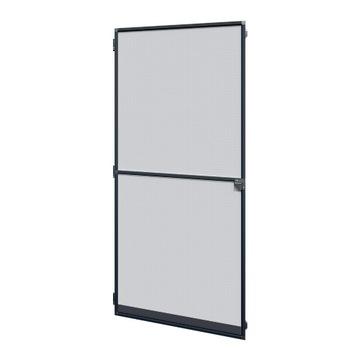 Дверная москитная сетка.Алюминиевая дверная рама.