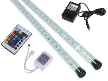 Светодиодная лампа RGB 2x90 см для освещения аквариума