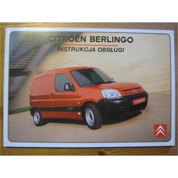 Instrukcja obsługi CITROEN BERLINGO 2002-7r. ORYG.