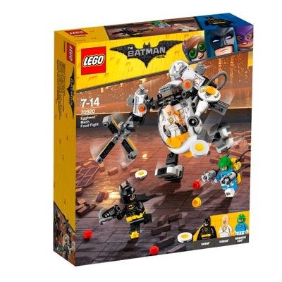 LEGO Batman Mech Eggheada bitwa na jedzenie 70920