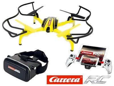 RC CARRERA Quadrocopter Vedľa HD FPV FOTOAPARÁTU, 2.4 GHz