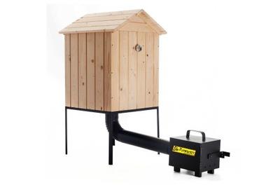 БОЛЬШАЯ коптильня для сада деревянная комплект  !!