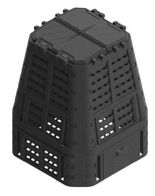 Компостер 650L Черный Морозостойкий 89x89x113cm