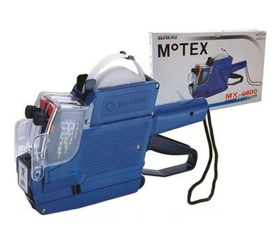 Metkownica MX 6600 dwurzędowa znaki PL + tusz