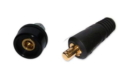 Príslušenstvo pre zváranie - Plug + zásuvka ŁW ŁP 35-50mm zváračka