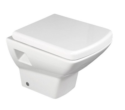 WC misa - Záchodová misa SEKURA bola zavesená na rozmeroch 35 x 50,5 cm