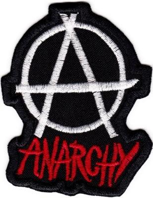 Naszywka Naszywki termoprzylepne Anarchy Anarchia
