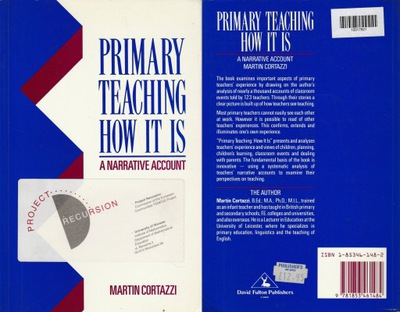 PRIMARY TEACHING HOW IT IS - Martin Cortazzi