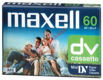 KASETA MINIDV Mini DV DO KAMER 60min Maxell DVM60