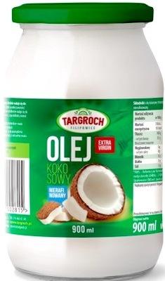 кокосовое масло нерафинированный    экстракласс 900ML !
