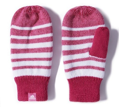 rękawiczki adidas neo damskie długie mitenki zimowe