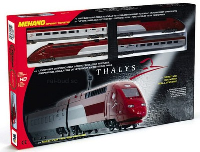 ОЧЕРЕДЬ HO С БЛОКОМ ПИТАНИЯ ПОЕЗД TGV THALYS - RAIBUD