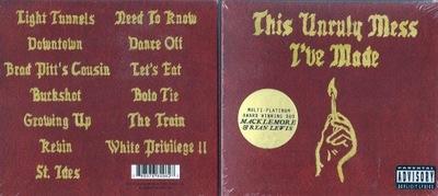Macklemore + Ryan Lewis THIS UNRULY MESS J'VE...CD