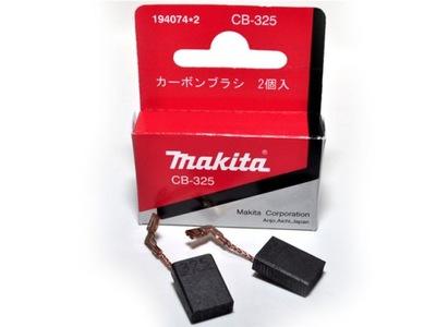 Drôtená kefa, kotúč - Uhlíkové kefy Makita CB325 CB-325 ORIGINAL !!
