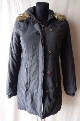 Kurtka Płaszcz jesionka palto czarna r. 36 S