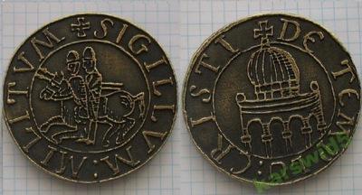 медальон Ордена Templiariuszy медаль
