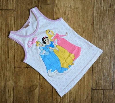 Koszulka Księżniczki / Princess / Disney rozm 116
