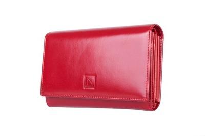 39a195e8dce6e SKÓRZANY portfel NICOLE SKÓRA 3 kolory 72037 - 5064949532 ...