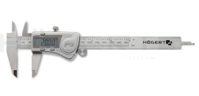Posuvné meradlo - HOGERT HT4M274 230 mm ELEKTRONICKÝ KONVERTOR