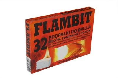 FLAMBIT podnecovaniu by byť účinný katalyzátor pre KRBOVÉ PECE 24pcs