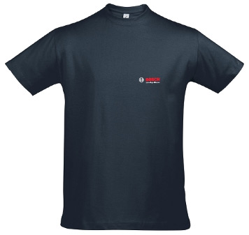 Bosch футболки футболки, с логотипом размер L