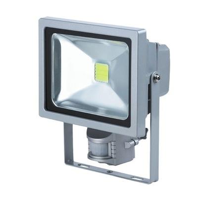 LED lampa floodlight 20W s pohybovým senzorom