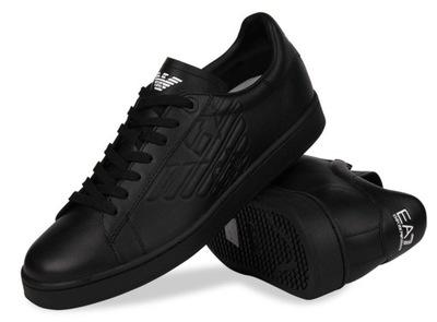 10ad5ed5d8eec EA7 Emporio Armani buty sneakersy męskie 41 1/3 7717965473 - Allegro.pl