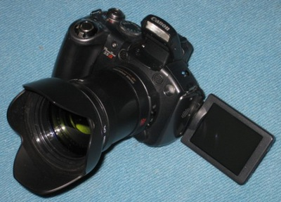 CANON PowerShot S5is  ZESTAW - FILTR UV I TULIPAN