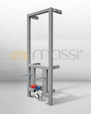 Montážny rám pre závesné WC - MASSI RINO skrytý bidetový rám 120x40cm