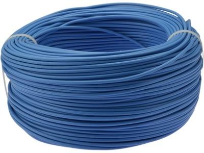 Kábel, drôt, kábel LGY H05V-K 1 mm2 modrá 100m
