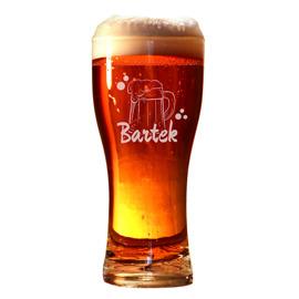 Pokal, стакан для пиво с гравировкой + любое имя
