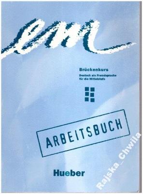 em Bruckenkurs Arbeitsbuch NOWE Ćwiczenia Deutsch