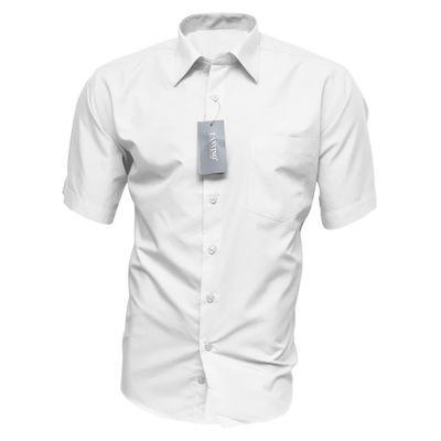 1a1b46b8cbde03 40/41 Chabrowa koszula męska SLIM z łatami - 5599732790 - oficjalne ...