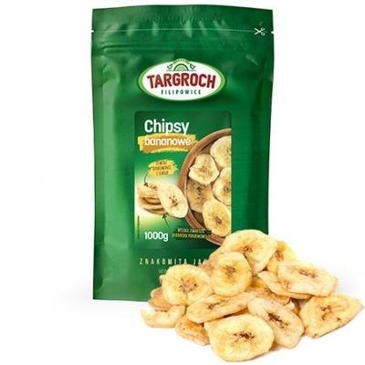 чипсы БАНАН 1 кг Банан сушеный TARGROCH