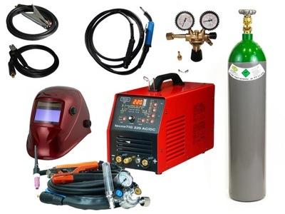 Zváračka, príslušenstvo - Zvárač TEC IDEAL TECNOTIG 220 AC / DC + KIT