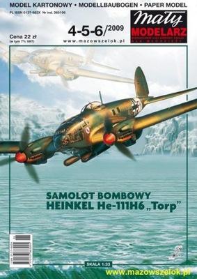 ММ 4 -5 -6 /2009 Самолет Хейнкель He-111H6 След