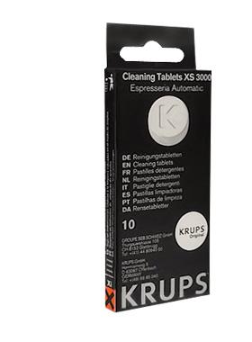 таблетки ЧИСТЯЩИЕ МАШИНА Krups XS3000 10шт