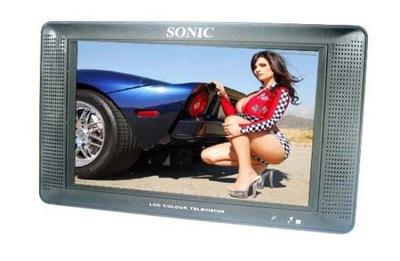 """NOWY MONITOR TV 10,2"""" SONIC 230 V / 12 V AV"""