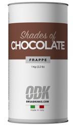 Frappe база шоколадный. 1кг - банка
