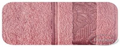 Plážová osuška, osuška - Ręcznik SYLWIA 70x140 EUROFIRANY pudrowy