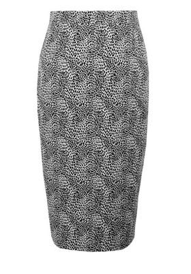 6adbf121 MOHITO spódnica ołówkowa NOWA w panterkę centki 38